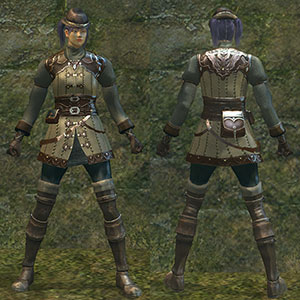 hunter armor set (female)