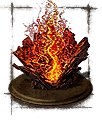 chaos flame ember icon