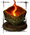 large flame ember icon