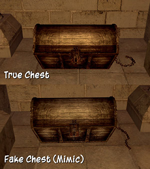 True/Fake Chest