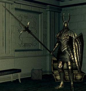 silver knight spear