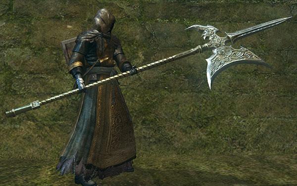 Dark Souls Halberd Concept Art