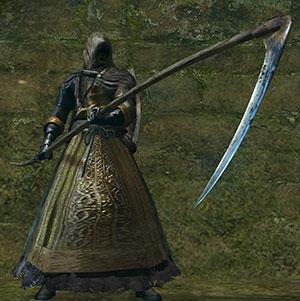 great scythe on hand