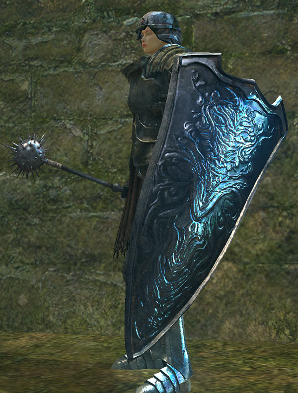 Dark Souls  Greatshield Build