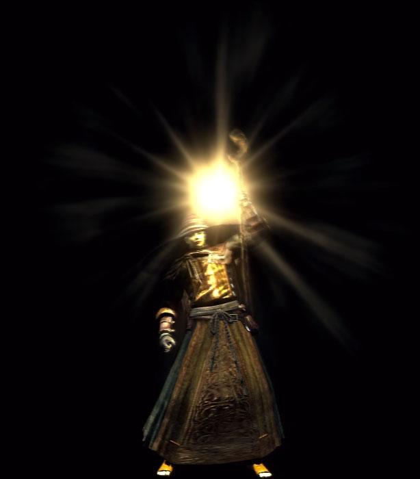 Dark Souls Wiki » Sorceries » Cast Light