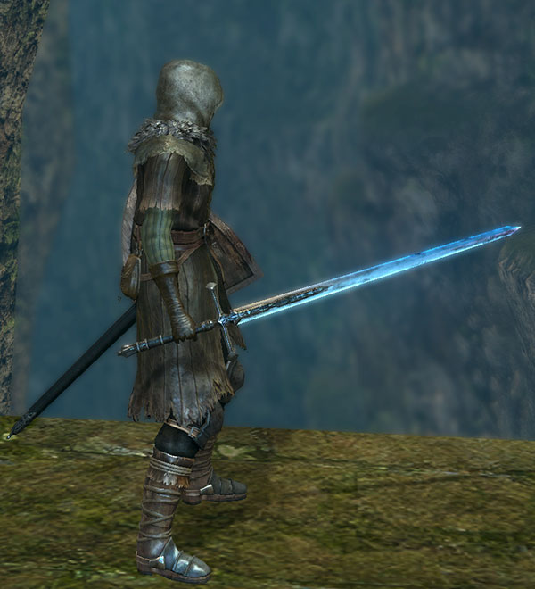 Dark Souls  Dark Sword Claymore Build